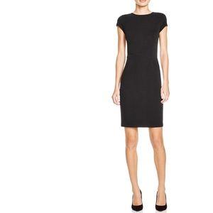 ⟪NWOT⟫ AQUA Ottoman Stripe Bodycon Dress (m) Black